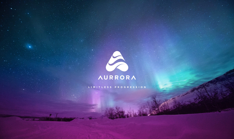 Aurrora logo design
