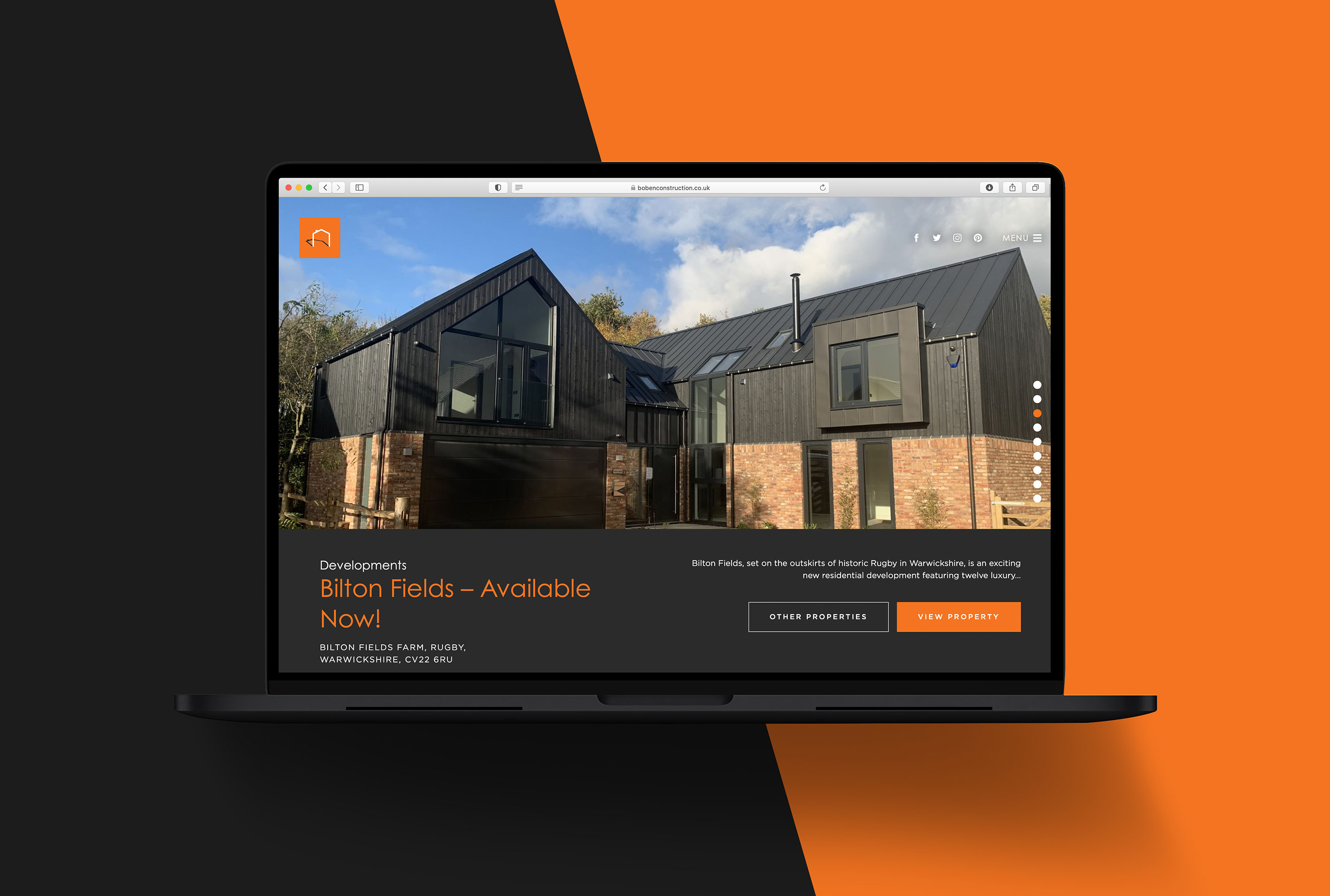 Website design Warwickshire