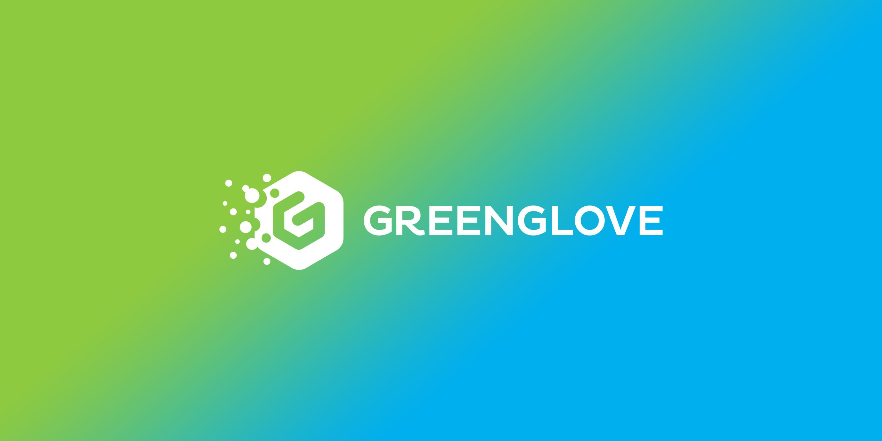 GreenGlove branding and logo design