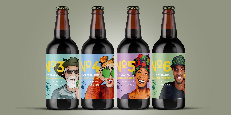 Napton Cidery branding redesign