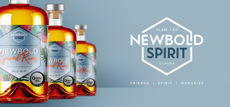 Newbold Spirit bottle design
