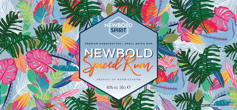 Newbold Spirit branding design