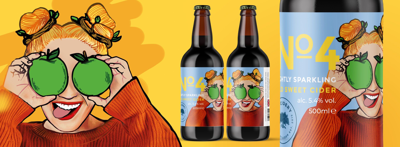cider bottle designs